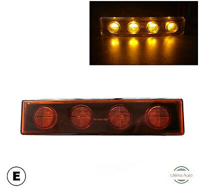 +FITS SCANIA 6 SERIES P /& R CABS 2010-2017 LED AMBER DOWNLIGHTER SCA613 X 6