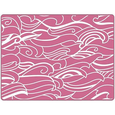 Sizzix Textured Impressions Embossing Folder - Waves 660360 By Sharyn Sowell