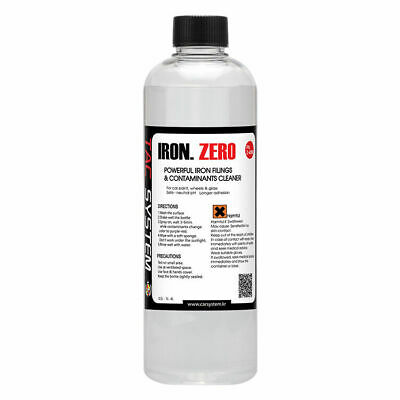 TAC Systems Iron Zero 500ml Iron Metallic Fallout Remover BMW MERCEDES AUDI X