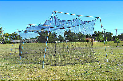 Cimarron #24 30x12x10 Batting Cage Net and Frame Corners CM-302024TPC