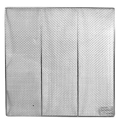 "12 Pieces Stainless Steel 19"" Square Donut Screen"