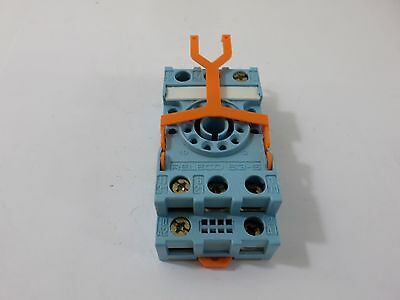 New Surplus  Releco S3-S Relay Base/Socket 10A 380V