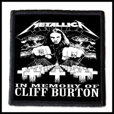 METALLICA - In Memory Of Cliff Burton  --- Patch