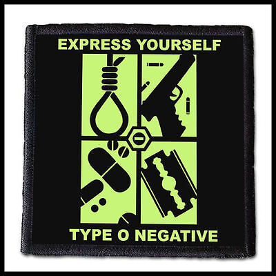 TYPE O NEGATIVE - Express Yourself  --- Patch