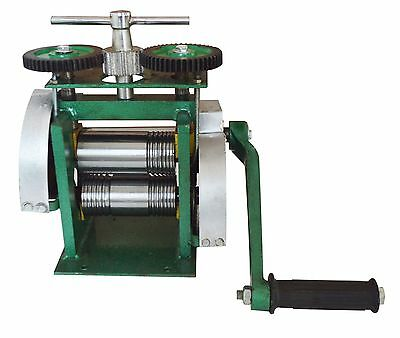 Rolling Mills For Half Round and Square for Jewelry Making Hand Control New