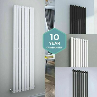 Vertical Designer Radiators Large Tall Upright Column Oval Panel Central Heating