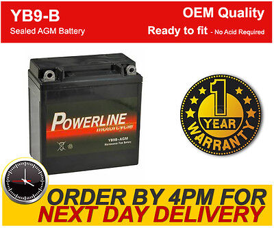 YB9-B Sealed Maintenance Free Upgrade Gel AGM High Performance Power Battery