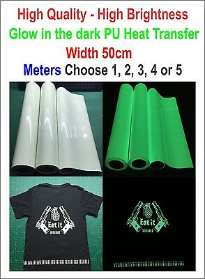 Glow in the Dark Heat Transfer For T-shirt  Heat Press