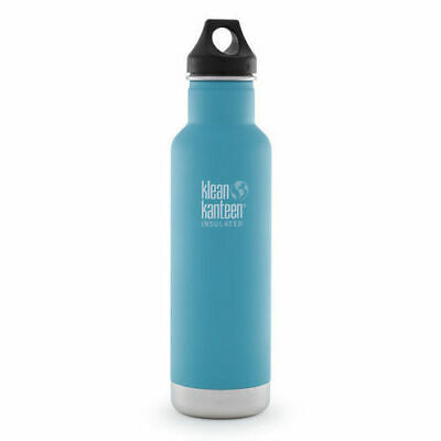 KLEAN KANTEEN CLASSIC INSULATED 20oz 592ml QUITE STORM BPA FREE Water Bottle