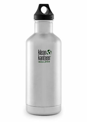 KLEAN KANTEEN CLASSIC INSULATED 32oz 946ml STAINLESS BPA FREE Water Bottle