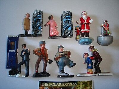 The Polar Express 2004 Kinder Surprise Figures Full Set Figurines Collectibles