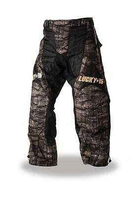 Lucky15 2015 Paintball Players Pants Wamo Camo - Size Extra Large
