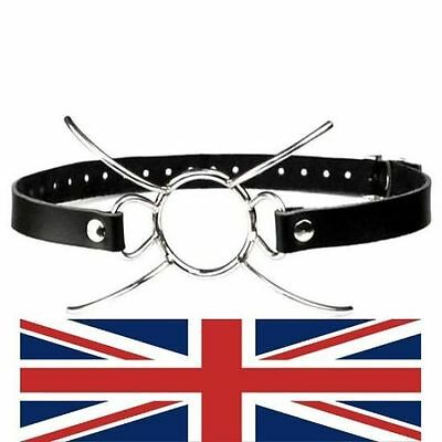 Metal Spider-legs O RING Mouth Gags / Metal Open Mouth Gag, ball gag, uk based!
