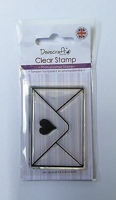 Dovecrafts Envelope Clear Stamp
