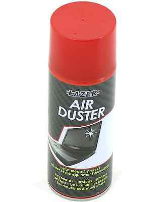 1X 200ml Compressed Air Duster Spray Can Cleans Protects Laptops Keyboards etc
