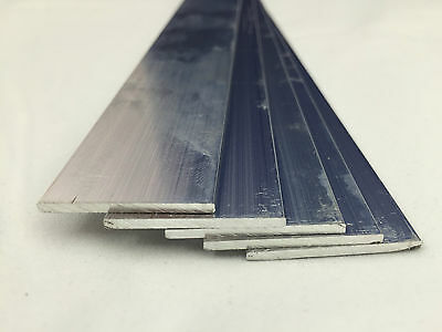 Aluminium Flat Bar Various Sizes 500mm - 2000mm LONG