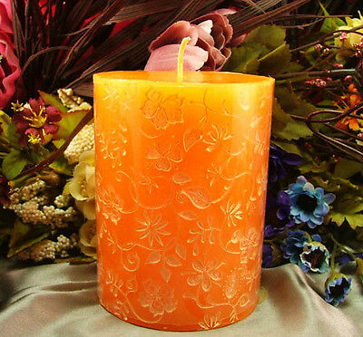 3D Cylinder Flexible Silicone Candle Mold Handmade Craft Clay Soap Making Molds