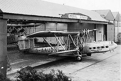 Airliners inc biplanes at Croydon Airport 1938 Sets of 12/10 6x4 BW photo prints