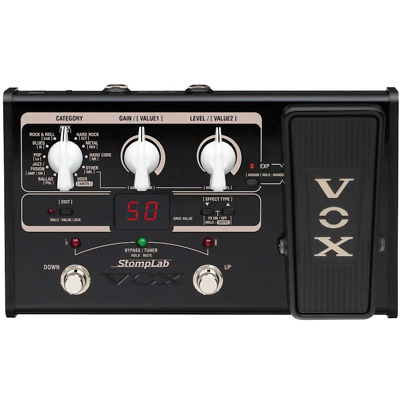 Vox Stomplab II Guitar Multi Effects Pedal