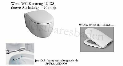 keramag icon xs wand wc sp lrandlos kurz 490 mm. Black Bedroom Furniture Sets. Home Design Ideas