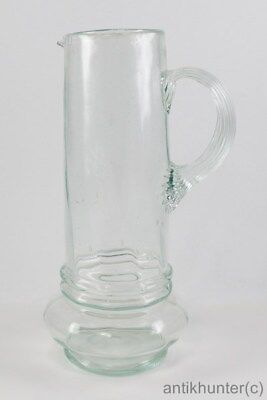 VINTAGE MOUTH-BLOWN WATER JUG - GERMAN ANTIQUE 1890`s