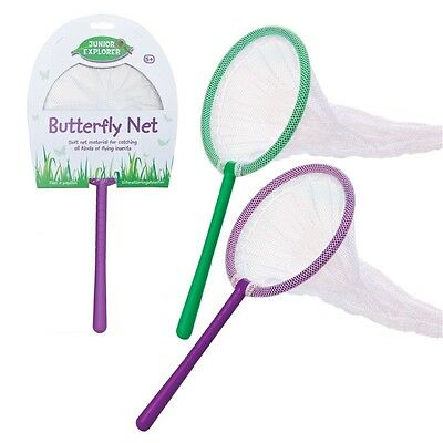 Butterfly Net Fish Bug Insect Catch Boys Girls Gift Outdoor Garden Activity Fun