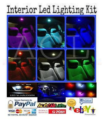 Holden VY VZ Commodore Bright Blue LED full Interior Light Kit suit this vehicle