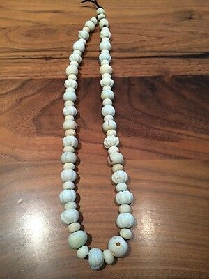 White Chinese Glass Beads - Mon Culture