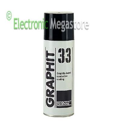 Spray grafite vernice conduttiva GRAPHIT 33 200ml ART. AP11