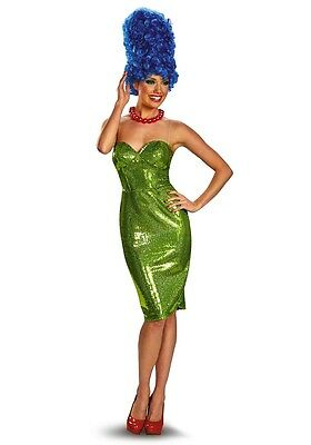 Marge Simpson Glam Deluxe Adult Womens Costume HALLOWEEN