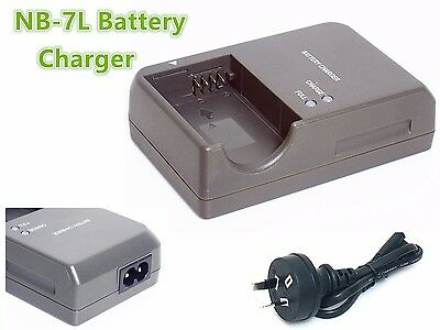 C5a Battery Charger for Canon Powershot G12 G11 G10 SX30 IS Digital Camera NB-7L