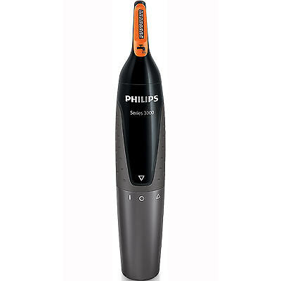 Philips NT3160 Series 3000 Nose Ear & Eyebrow Hair Trimmer Cordless Waterproof
