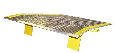 """Truck Loading Dock Plate 30""""W x 24""""L with Handles"""