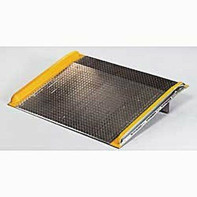 RELIUS SOLUTIONS Aluminum Dock board with Welded Aluminum Curbs