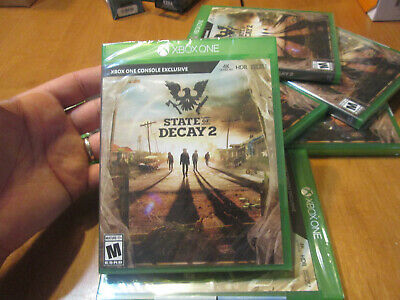 State of Decay 2 XBOX ONE BRAND NEW FACTORY SEALED US NTSC ZOMBIE