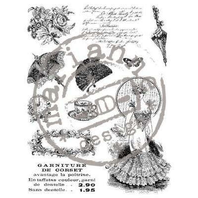 Marianne Design Clear Stamps -  Victorian Ladies 2 CS0864