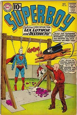 Superboy #92 (Dc) - Oct. 1961 - Vg+
