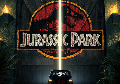 Jurassic Park Movie Wall Art Poster (A1 - A5 Sizes Available)
