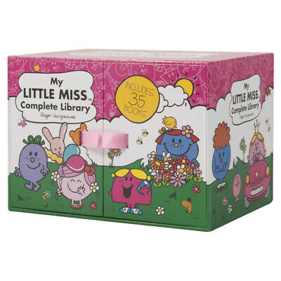 My Little Miss Complete Library 35 Books Box Set Story Collection Hardcover