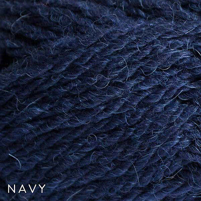 Patons Inca 14ply Navy Blue #7047 - Wool-Alpaca - 50g Balls $7.50 Great Value