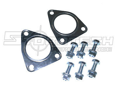 rover mgf exhaust catalytic converter / stainless steel decat gasket fitting kit