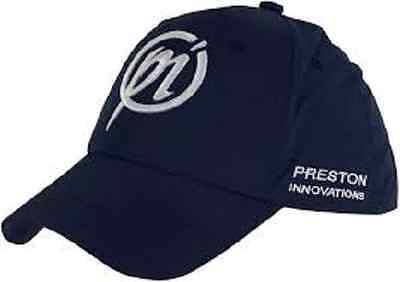 New Preston Innovations PI Logo Sports Fishing Cap - Black are White Available