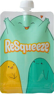 Resqueeze Baby Food Pouch 9 Oz [perfect for smoothies]