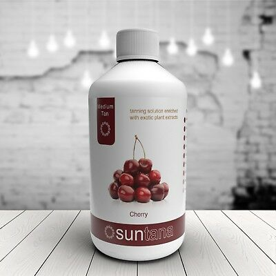 250ml Cherry Fragranced 10% Spray Tan (Medium) - Suntana Solution