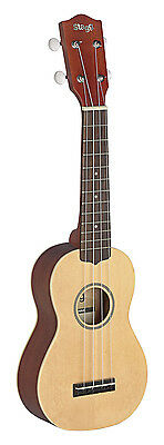Stagg Traditional Soprano Ukulele with Gig Bag