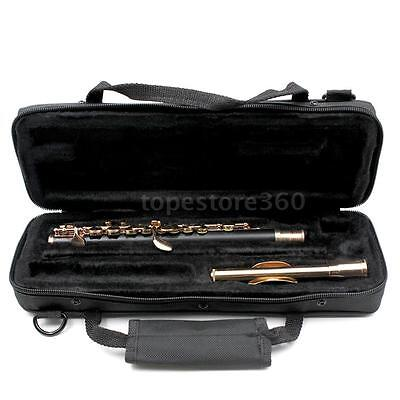 Golden Cupronickel C Piccolo with Case Cloth Lubricant
