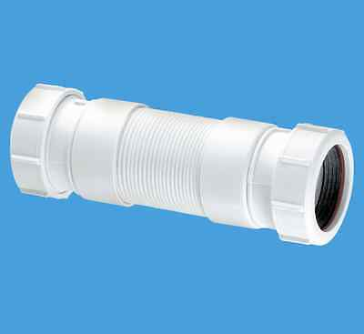 McAlpine 32mm Flexible Waste Pipe Connector FLEXCON3  FREEPOST