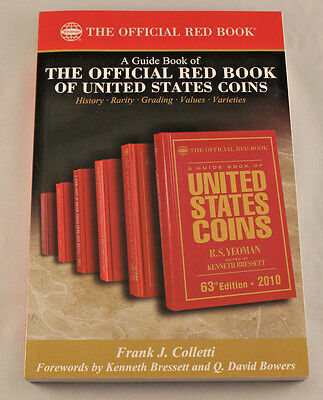 GUIDE to the OFFICIAL RED BOOK - U.S. COINS - Complete History & Values