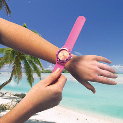 Land & Sea Silicone Slap Watch 10Atm - 100M Water Resistant - Many Colours