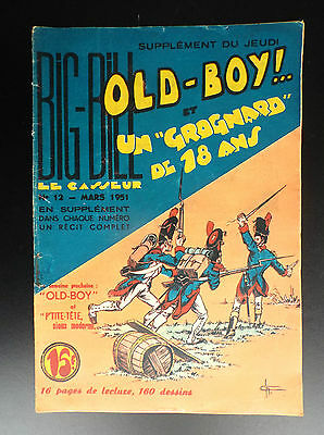 RARE Big Bill Old Boy N° 12 1951 Chott BON ETAT PLUS  Petit Format